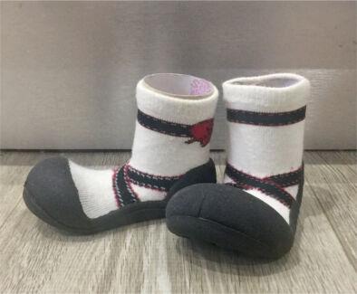 Attipas Baby Shoe Socks - Ballet Black
