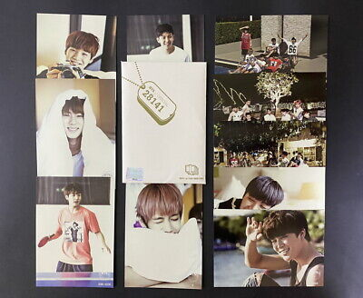 BTS-2014 1st Fan Meeting official Inauguration Ceremony PHOTO CARD FULL SET RARE