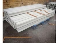 8ft reinforced concrete fence posts ⭐️ excellent quality ⭐️