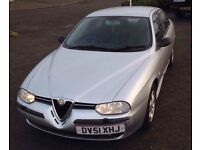 Alfa Romeo 156 T-spark 1.6 petrol. 71,000 miles.