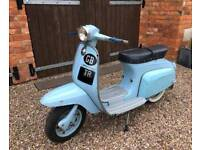 1966 Lambretta j125cc Starstream