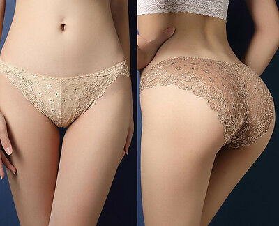 Sexy Lingerie Women's G-string Panties Lady Underwear  Lace Hollow Briefs Thongs