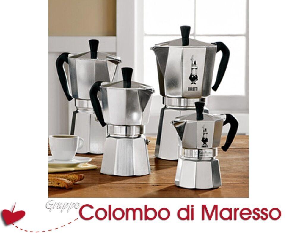 CAFFETTIERA CAFFETTIERE BIALETTI MOKA RESTYLING CAFFE' 1 2 3 4 6 9 12 18 TAZZE