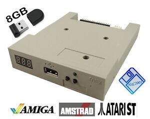 Amiga-Atari-ST-Amstrad-USB-Floppy-Disk-Emulator-GOTEK-HxC-beige-w-8GB-USB-key