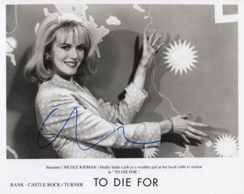"""Nicole Kidman """"To Die For"""" Autogramm signed 20x25 cm Bild s/w"""