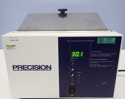 Precision Digi Controlled 280 Series 2.5l Waterbath Model Tested New Cosmetic