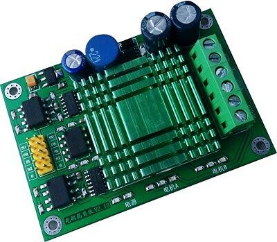 60a High Power Mos Dual Channel H-bridge Dc Motor Driver Module