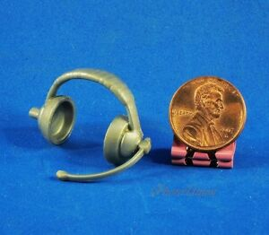 WWE-WWF-Wrestling-Jakks-Figure-Announcers-Head-Microphone-Radio-Headset-K880-J