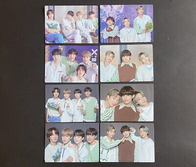 BTS-LOT OF 8 SOWOOZOO 2021 MUSTER OFFICIAL MINI PHOTO CARD SET UNIT DBALL