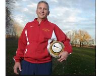 Want to be a Football Coach? Find a football team, join football team, play football in london