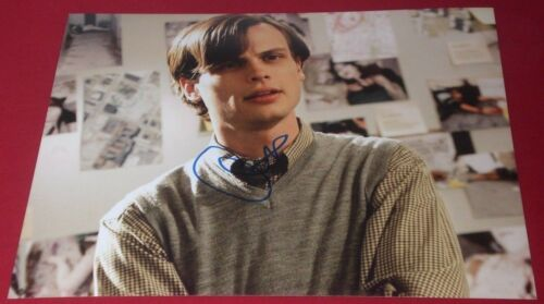 MATTHEW GRAY GUBLER SIGNED CRIMINAL MINDS SPENCER IN THOUGHT 8X10 PHOTO AUTO COA