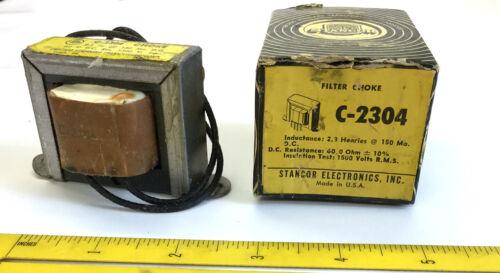 1 NOS Vintage Stancor Filter Choke Transformer C-2304