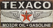 Vintage Metal Oil Signs
