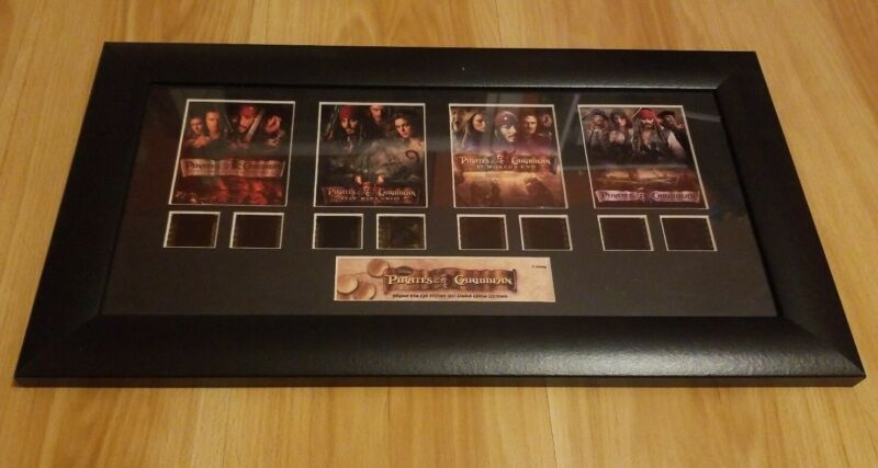 Pirates of the Caribbean Original Filmcell Limited Edition: 115:5000
