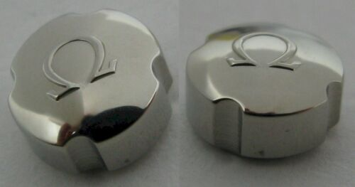 Omega clover crown 069ST42023 for stainless steel vintage models