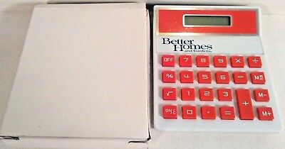 VINTAGE BETTER HOMES AND GARDENS CALCULATOR NEW OLD