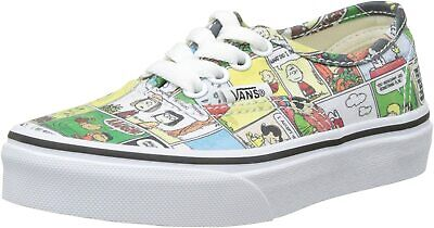 Vans Off The Wall Kids X Peanuts Comics Authentic Skate Shoes