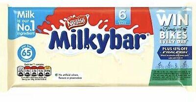 Nestle Milkybar 6 Pack 72g
