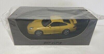 WOW! 1:18 Porsche GT3 Yellow Dealer Editions BNIB SEALED BOX