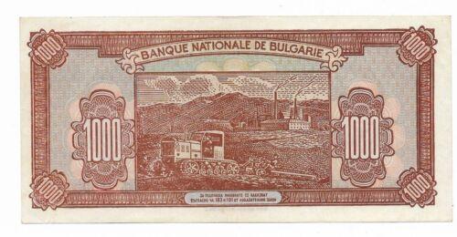Bulgaria/Bulgarian 1000 Leva 1948 XF Super ++++++++