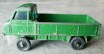 VINTAGE HUSKY DIECAST LAND ROVER TRUCK US MILITARY GREAT BRITAIN