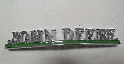 John Deere R 40 50 Tractor Front Grill Name Plate  Aa5383r  9281