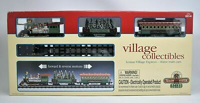 Lemax Village Collectibles Village Express Christmas Train System Set FOR PARTS