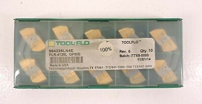 Tool-flo Flr-4125l Gp50e 594225ln4e 10pack Carbide Inserts