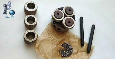 Rollers Thread Rolling Head M4-M7 pitch 1.0 mm SET of 3pcs USSR