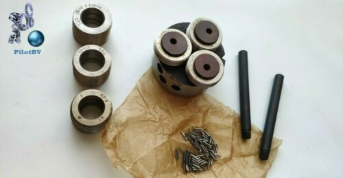 Lathe Thread Rolling Head M8-M16 +5 Sеts Rollers:pitch 1.0; 1.25;1.5; 1.75; 2.0