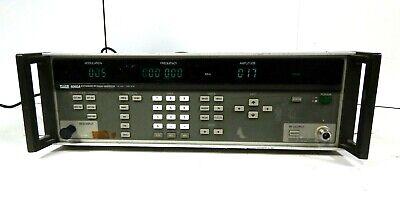 Fluke 6060a Synthesized Signal Generator Free Shipping