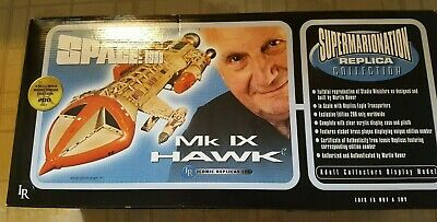 ULTRA RARE Space 1999 HAWK MK IX MIB - Iconic Replicas ONLY 200 ISSUED!