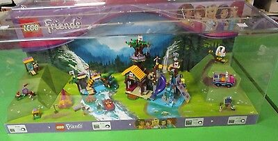 Lego Friends Store Display Adventure Camp Archery Rafting Tree House