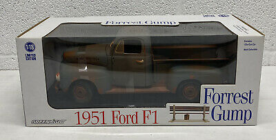 Forrest Gump 1951 Ford F1 1:18 Scale Diecast / Greenlight 2016