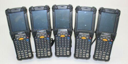 Lot of 5 Symbol Motorola MC9090-GF0HBEGA2WR Wireless Barcode Scanner No Battery