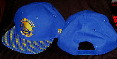 Golden State Warriors NBA New Era 9fifty Multi-Star Team Farbe Snapback Kappe