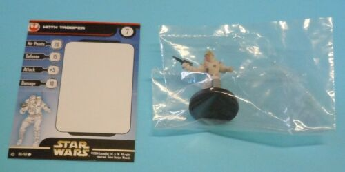 Star Wars Miniatures Hoth Trooper #08/60 NEW NIB SWM Rebel Storm