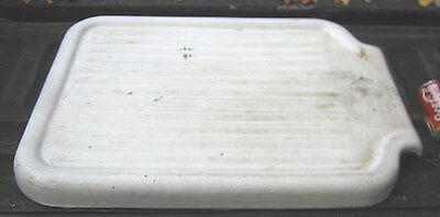 ANTIQUE 1927 USA STANDARD PORCELAIN FARM HOUSE SINK CAST IRON DISH TRAY HOLDER