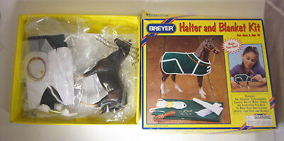 "BREYER Thoroughbred Model Horse Free US Ship Halter Blanket Swaps '00 #4102 6"""