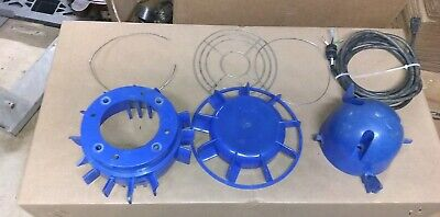 Coppus Vac 1 Lot Of Replacement Air Mover Parts Vac1 And Power Cord Etc.
