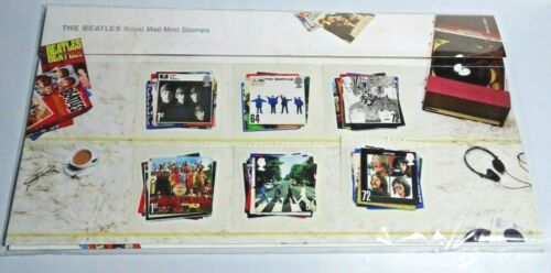 2007 THE BEATLES ROYAL MAIL PRESENTATION PACK COMPLETE W/STAMPS (6) SLEEVE COVER