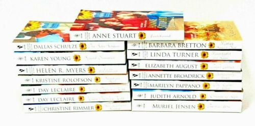 Lot Of 15 Harlequin Romance Close To Home Paperback Books Novels