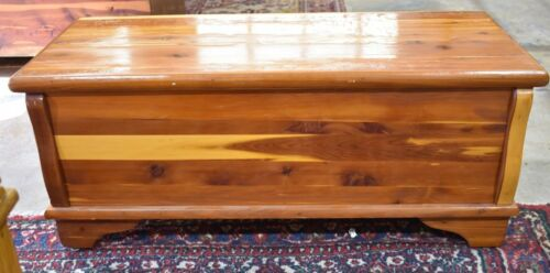 Vintage Antique Solid Red Cedar Chest by Forest Products