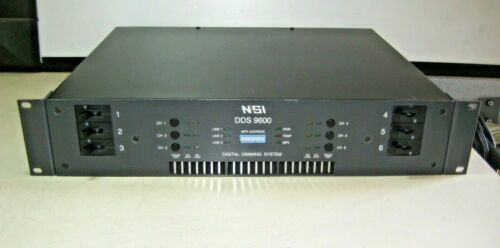 NSI / LEVITON 9600 DDS DIGITAL DIMMER SYSTEM, PATCH PANEL