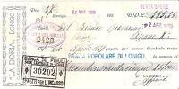 Cambiale Banca Popolare Di Lonigo 24 Aprile 1929 - La Doria Caramelle Confetture -  - ebay.it