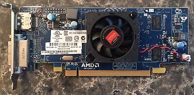 Hp Amd Ati Radeon Hd6450 512Mb Pcie Dvi Dp Graphics Card 637996 001 Low Profile