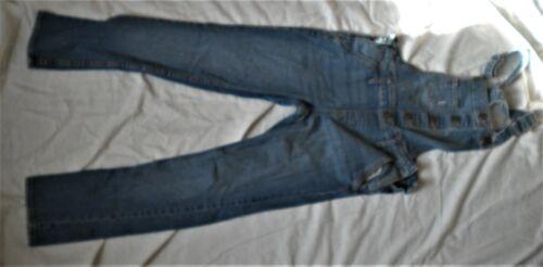 Gap Kids Blue Jean overalls Coveralls size 10 Reg jean denim