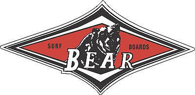 Rasta Bear Jamaican Style Vintage Surf Reggae Sticker Prism Rare Vending Decal