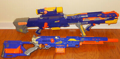 Nerf N-Strike Longshot CS-6 & Longstrike CS-6 Blasters