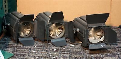 LOT OF 3 ACCLAIM FRESNEL THEATRE LIGHTS !   THEATER   W372